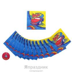 Салфетка Супер гонщик 33см 20шт