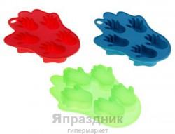 """Набор форм для льда и шоколада """"Следы"""" 2 шт цвета МИКС"""