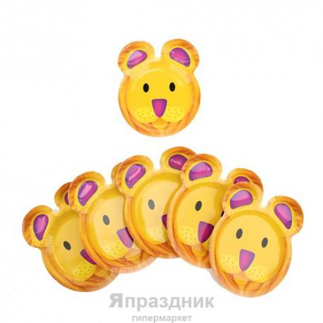 Набор тарелок Львенок 23см 6 шт