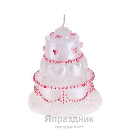 Свеча Свадебный торт