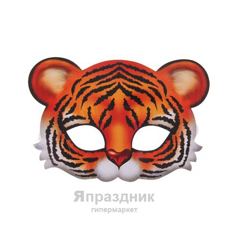 """Маска карнавальная """"Тигренок"""", 23 х 16 см"""
