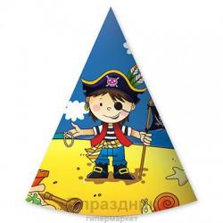 Колпак Маленький пират 6шт/G