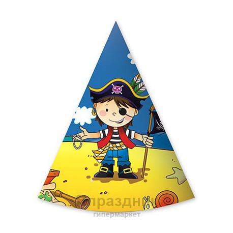Колпак Маленький пират 6шт