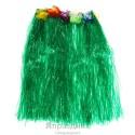 Гавайская юбка, цвет зеленый 50 см