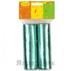 Y Серпантин фольгированный 2ст/36колец Зеленый