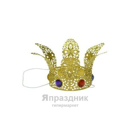 WB Корона принцессы на резинке