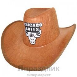 WB Шляпа Ковбой Chicago Bulls