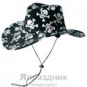 Шляпа ковбойская черепа