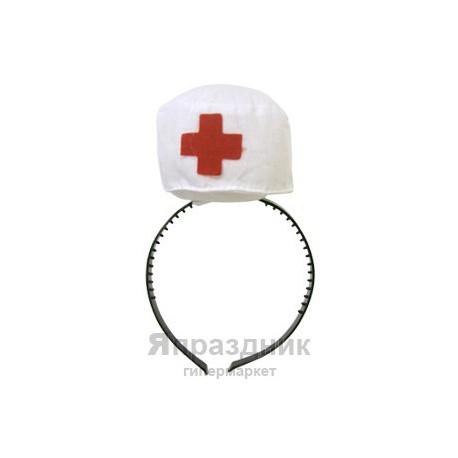 WB Шляпка медсестры на ободке