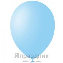 """M 12""""/30см Пастель LIGHT BLUE 002 100шт шар латекс"""