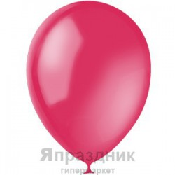 "M 12""/30см Декоратор RUBY RED 051 100шт шар латекс"