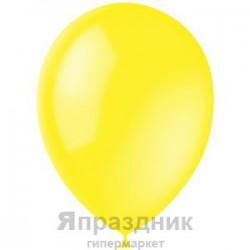 "M 12""/30см Декоратор YELLOW 041 100шт шар латекс"